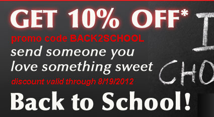 Get 10% Off. Send Someone You Love Something Sweet