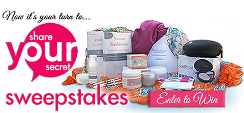 Share Your Secret Sweepstakes